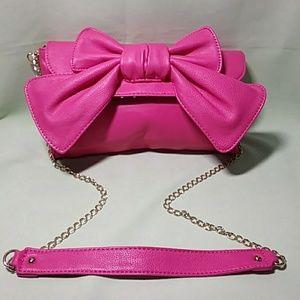 Handbags - Lulu Cross Body Bag Hot Pink